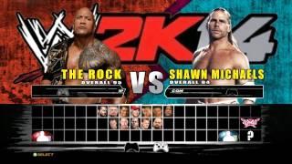 WWE 2K14 FULL ROSTER REVEAL!!!