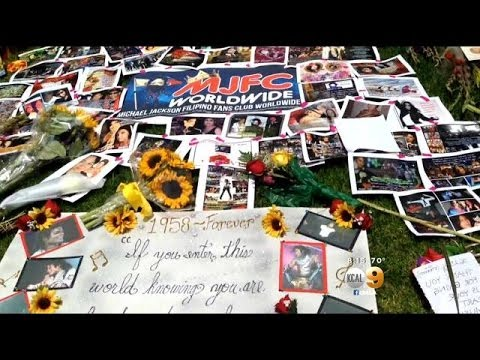 Fans From Around The World Visit Southland To Mark Anniversary Of Michael Jackson's Death