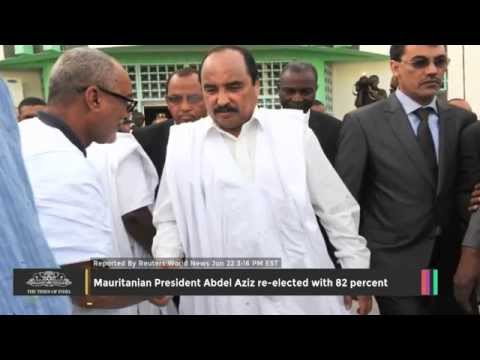 Mauritanian President Abdel Aziz Re-elected With 82 Percent - TOI