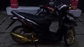 Cara Modifikasi Motor Honda Vario Techno 125 PGM FI 2014