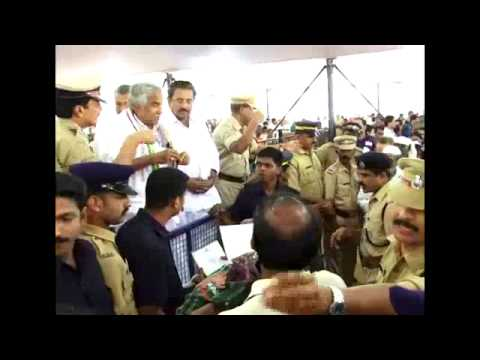 Janasamparka Paripadi 2013 Wayanad -  Oommen Chandy for the poor and needy people
