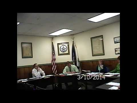 Champlain Village Board Meeting 3-10-14