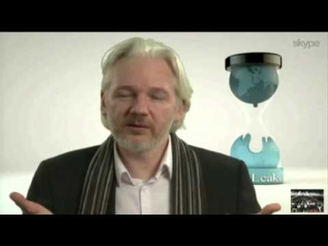 Julian Assange Appears at South by Southwest