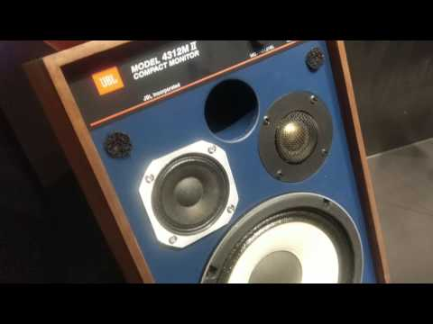 JBL model 4312M II compact monitors 70 years JBL
