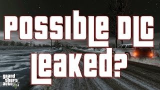 GTA 5 ONLINE DLC LEAKED!? Possible North Yankton DLC NEWS
