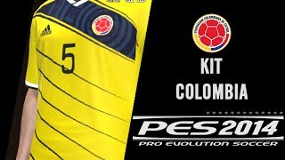 PES 2014 Como Hacer El Uniforme De Colombia / How To Build