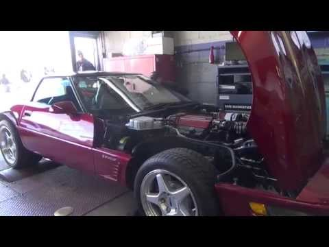 LtxTech dyno day 95 red corvette 2014 performance specialties