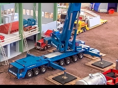 EPIC RC Mobile Truck Crane! Amazing miniature Technology!