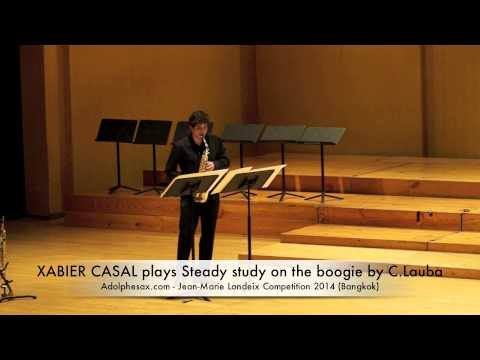 XABIER CASAL plays Steady study on the boogie by C Lauba