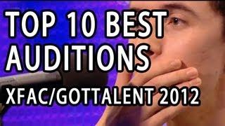 Top 10 Best First Auditions X Factor / Got Talent (USA UK