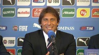 """Conte: """"Aspettavo un club europeo, è arrivata l'Italia"""" - 19 Agosto 2014"""