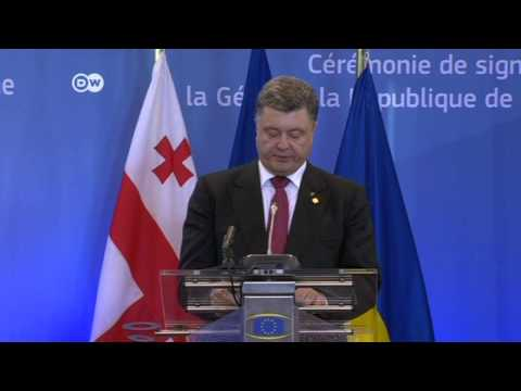 Ukraine signs historic deal with EU | Journal