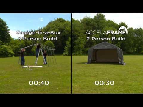 Shelter Logic Accelaframe Shelter 12X20