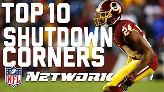 Top 10 Shutdown Cornerbacks | Good Morning Football | NFL Network