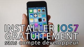 Installer Gratuitement IOS 7 Beta Sur IPhone, IPod Touch