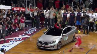 Blake Griffin Jumps Over A Kia And Wins 2011 NBA Dunk