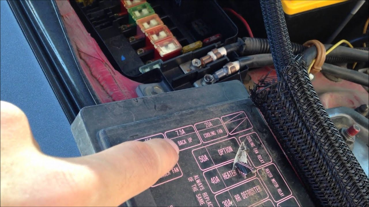 2000 honda civic fuse box under hood easy ecu reset how to    honda    acura integra youtube  easy ecu reset how to    honda    acura integra youtube