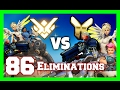 Overwatch GrandMaster vs Golds INSANE CARRY 86 Eliminations 70 Kill Participation