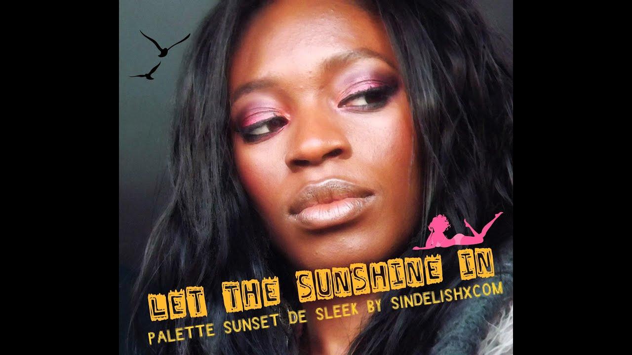 Tuto palette sunset sleek o trouver des palettes sleek youtube - Ou trouver des palettes ...