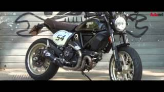 Trải nghiệm Ducati Scrambler Cafe Racer tại Ý