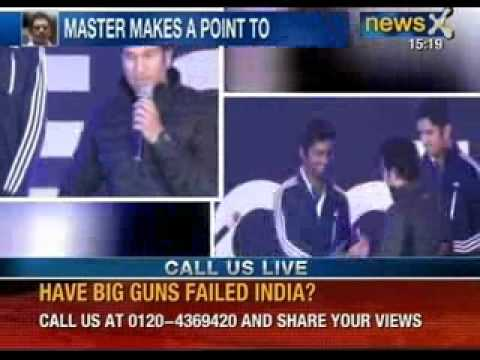 Sachin Tendulkar to mentor young talent - NewsX