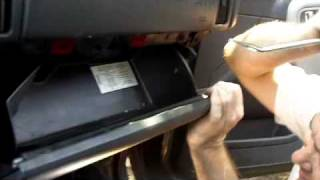 Part 3, 1999-2000 Jeep Grand Cherokee Dashboard Removal
