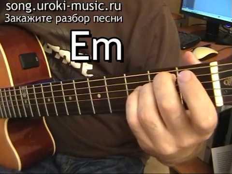 Уроки игры на гитаре - аккорды