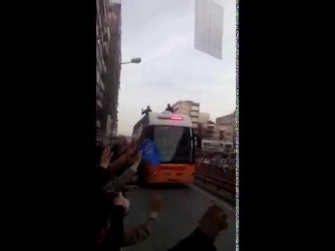 Başbakan recep tayyip erdoğan konvoyu korumalari muhteşem görüntüler