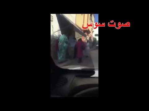 فيديو لنساء يصطفن أمام باب مشعوذ بشارع القدس بأكادير …