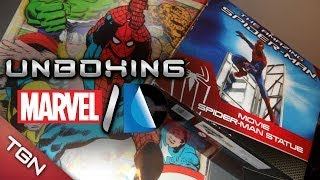 UNBOXING DEFINITIVO: MARVEL / DC