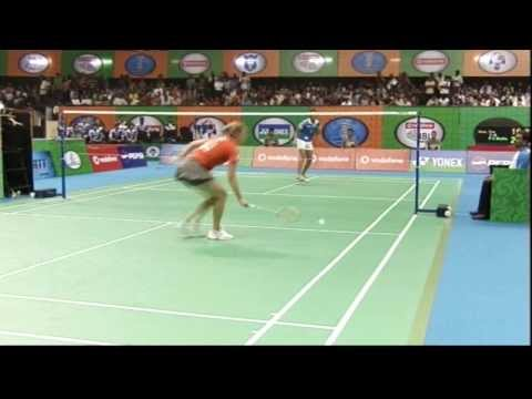 Tine Baun Vs PV Sindhu | Women's Singles | Mumbai Masters Vs Awadhe Warriors 2013