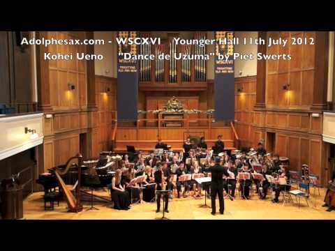 WSCXVI Kohei Ueno plays Dance de Uzuma by Piet Swerts