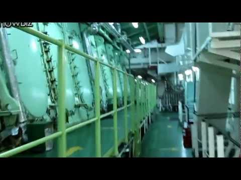 Tour of a Container Ship Engine Room