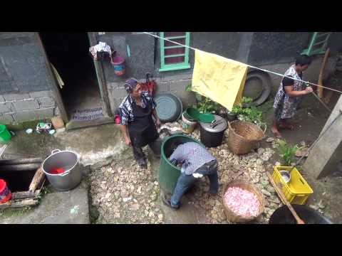 Traditional Igorot Wedding - Food Preparation