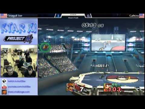 KTAR XI PM - Seagull Joe (Diddy Kong) VS Gahtzu (Captain Falcon) Winners Finals