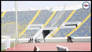 """ملعب """"دونور"""" قبل #ديربي_كازابلانكا"""