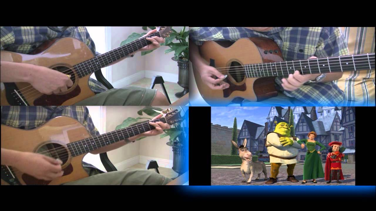 how to play hallelujah from shrek on guitar