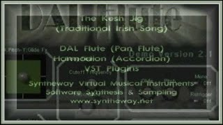 The Kesh Jig: Syntheway DAL Flute (Pan Flute), Harmodion (Accordion) VST Plugins Software - YouTube
