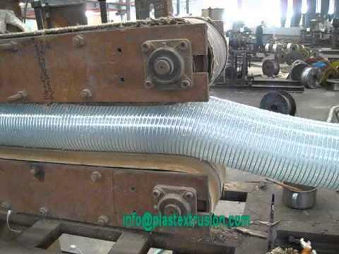 pvc pu steel wire hose production line