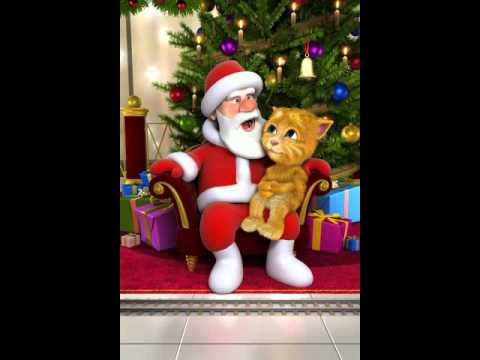 Talking Santa meets Ginger TET TET TET DEN ROI