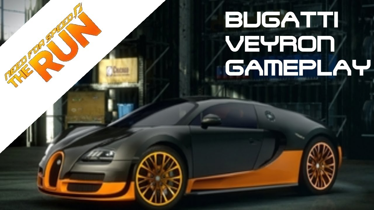 need for speed the run bugatti veyron 16 4 super sport gameplay ps3 exclusive car youtube. Black Bedroom Furniture Sets. Home Design Ideas