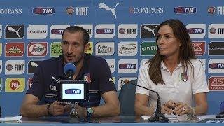 """Chiellini: """"Dobbiamo migliore la fase difensiva"""" - Mondiali 2014"""