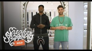 """Chad """"Ochocinco"""" Johnson Goes Sneaker Shopping with Complex"""