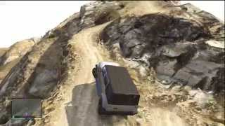 GTA V (GTA 5): Mount Chiliad Fail (Xbox 360)