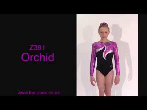 Orchid Long Sleeved Gymnastics Leotard