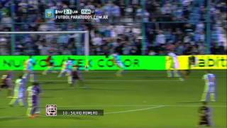 Gol de Romero. Rafaela 2 - Lanús 1. Fecha 2. Torneo Primera División 2014. FPT