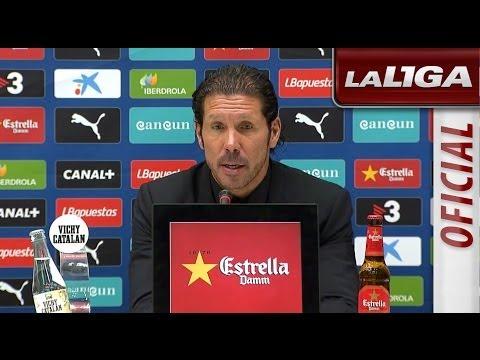 Rueda de Prensa de Simeone tras el RCD Espanyol (1-0) Atlético de Madrid - HD