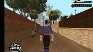 watch video grand theft auto san andreas samurai rangers power