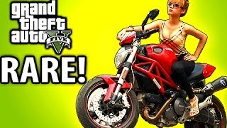 How To Find The RAREST Bike! GTA 5 Tips & Tricks