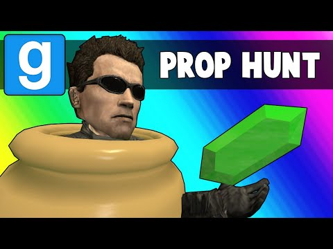 Gmod Prop Hunt Funny Moments  Ohmwreckers Teleporter Troubles Garrys Mod